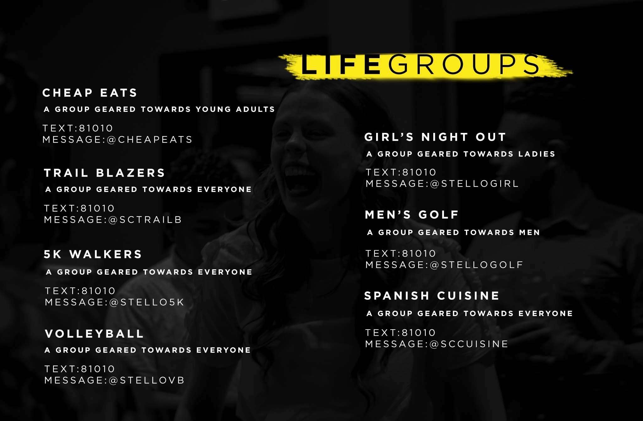 wake forest small groups